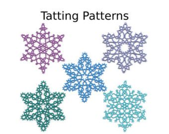 PdfTatted snowflake patterns snowflake patterns by AlenAleaDesign