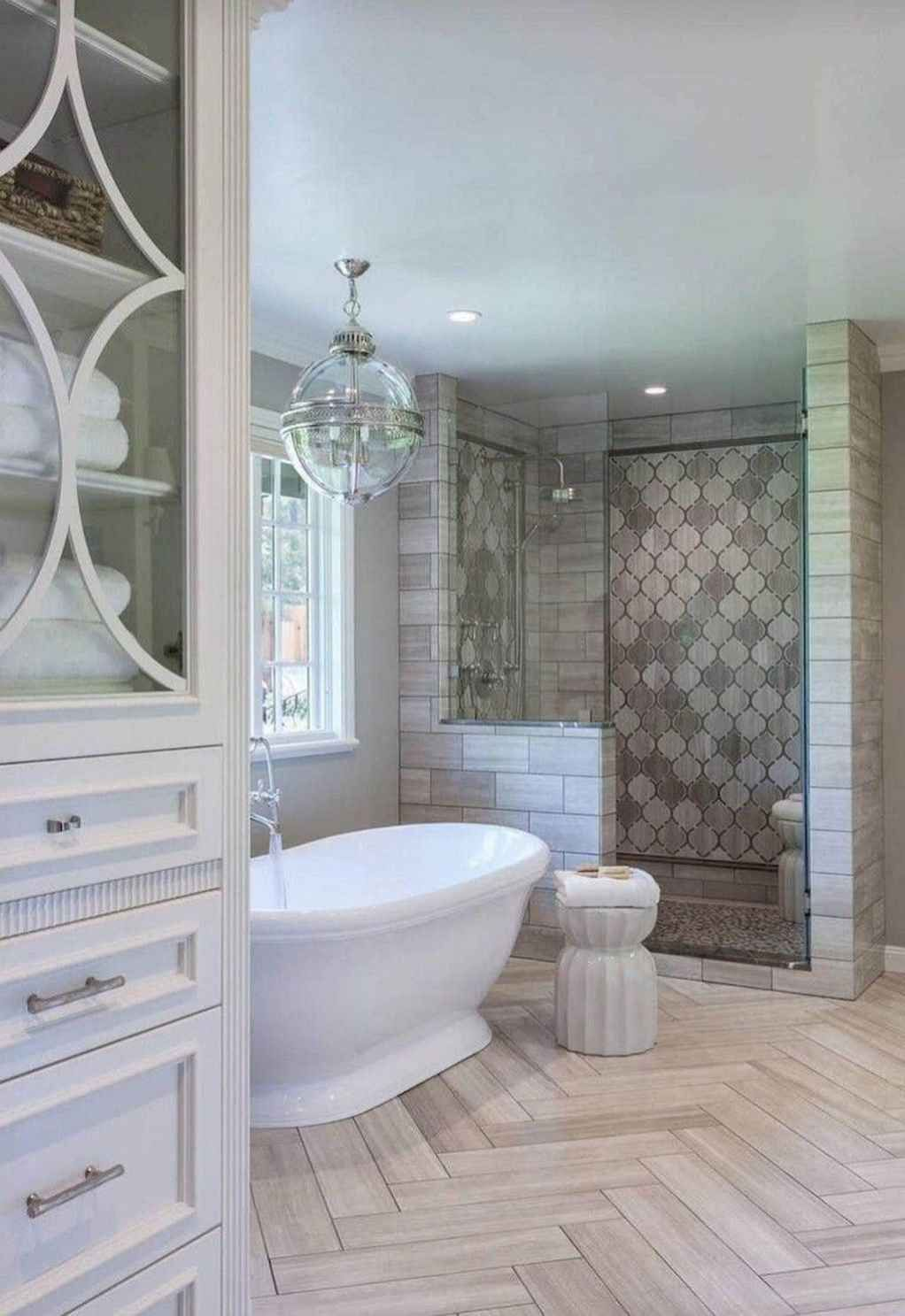 65 awesome farmhouse bathroom tile floor decor ideas дизайн on beautiful farmhouse bathroom shower decor ideas and remodel an extraordinary design id=25493