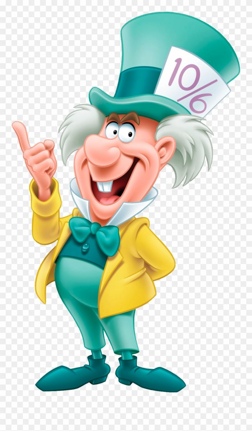 Download Hd Mad Hatter Disney Alice In Wonderland Png Clipart And Use The Free C In 2021 Alice In Wonderland Cartoon Alice In Wonderland Characters Mad Hatter Disney