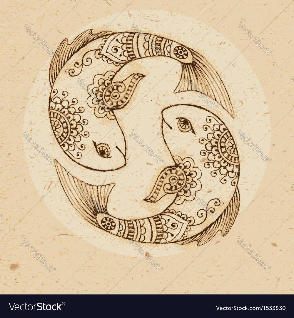 пин от пользователя Susik Breyan на доске Doudle Art гороскоп рыбы