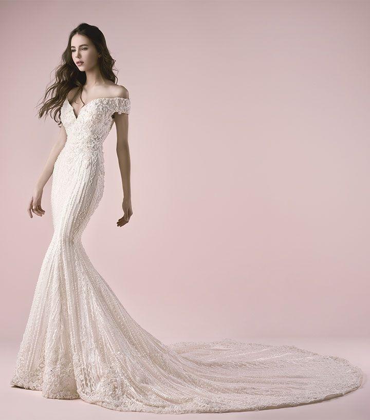 Saiid Kobeisy Mermaid Wedding Dress | Wedding Dress Inspiration #mermaidweddingdress #weddingdress #weddingdresses #bridalgown #bridal #bridaldresses #bridaldress