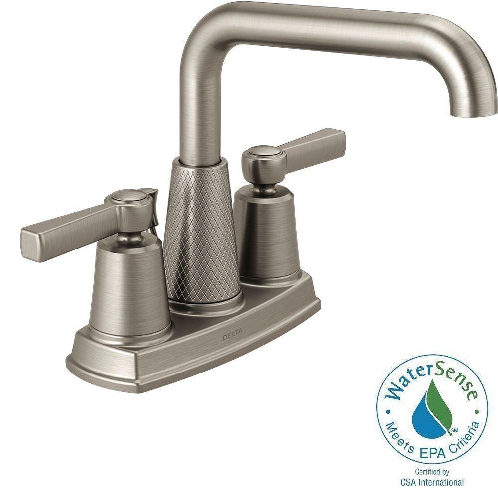 Delta Allentown In Centerset Handle Bathroom Faucet In - Allentown bathroom remodeling