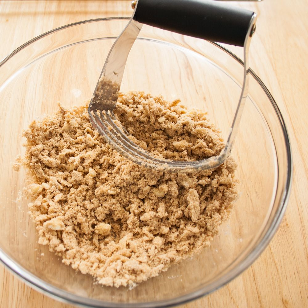 This versatile Brown Sugar Streusel can be used in so many ways and adds an extra tasty flavor to so many delicious desserts!