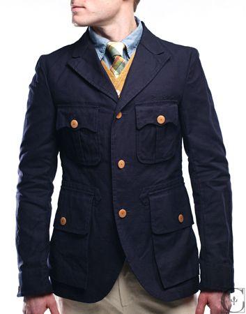Nigel Cabourn Officers Jacket