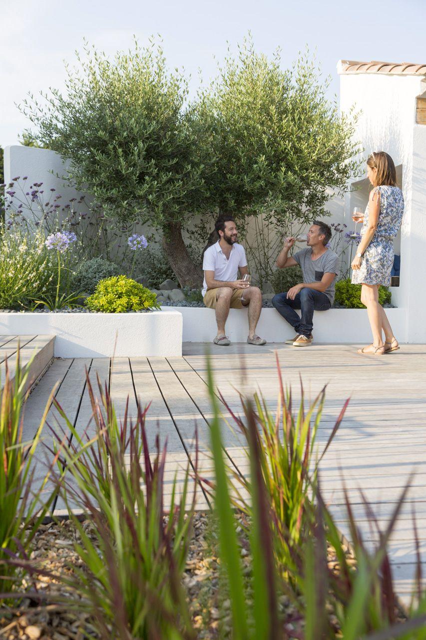 aix-en-provence, création jardin privé, architecte paysagiste