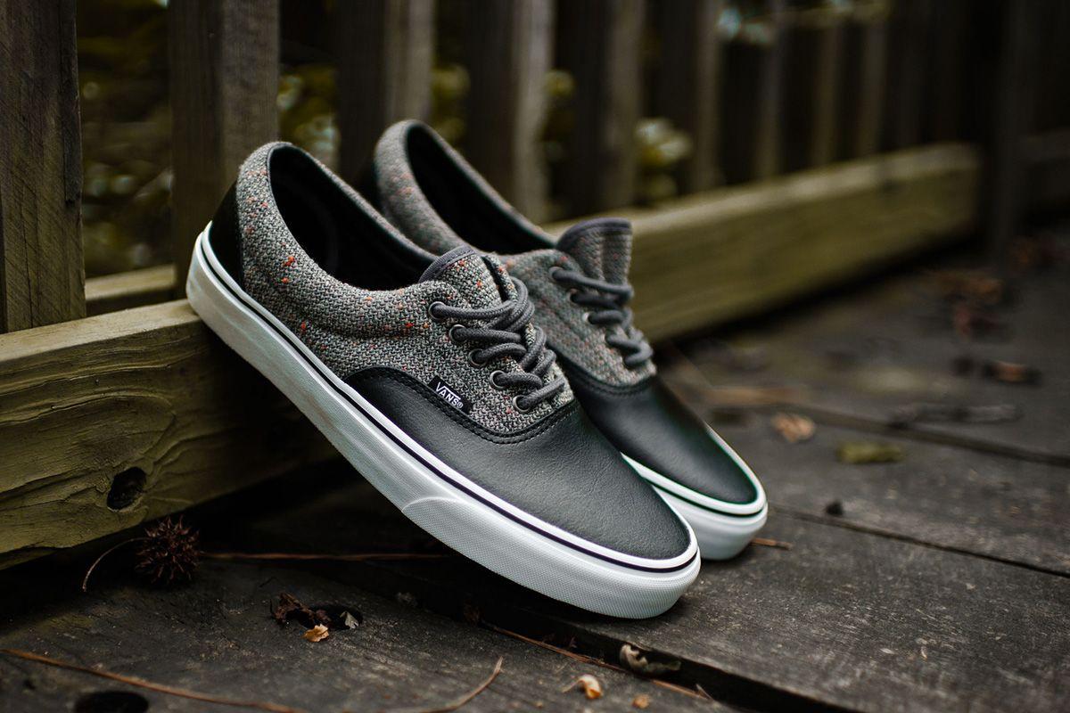 Vans Era  Wool Leather  Excalibur Grey   Black - EU Kicks  Sneaker Magazine af8b01df485