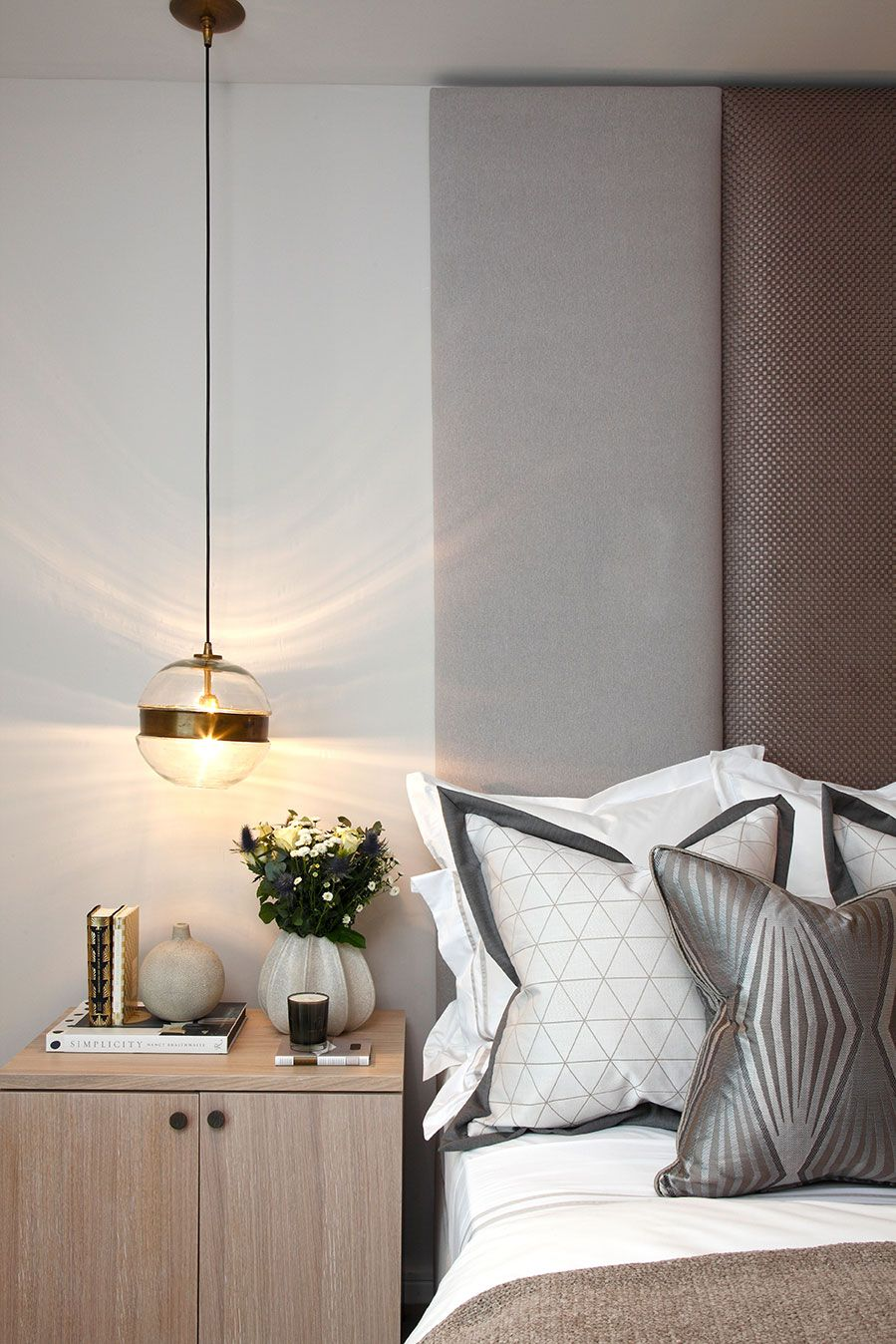 Bedside Manner - James Balston Photography  Stylish bedroom decor