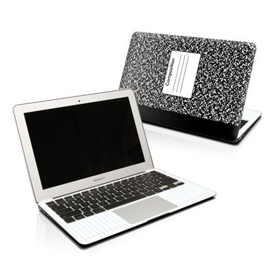 MacBook Skin - Composition Notebook by DecalGirl Collective