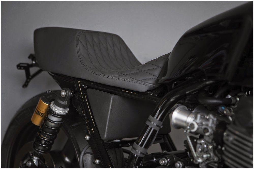 Yamaha XJR1300 Skullmonkee ~ Return of the Cafe Racers