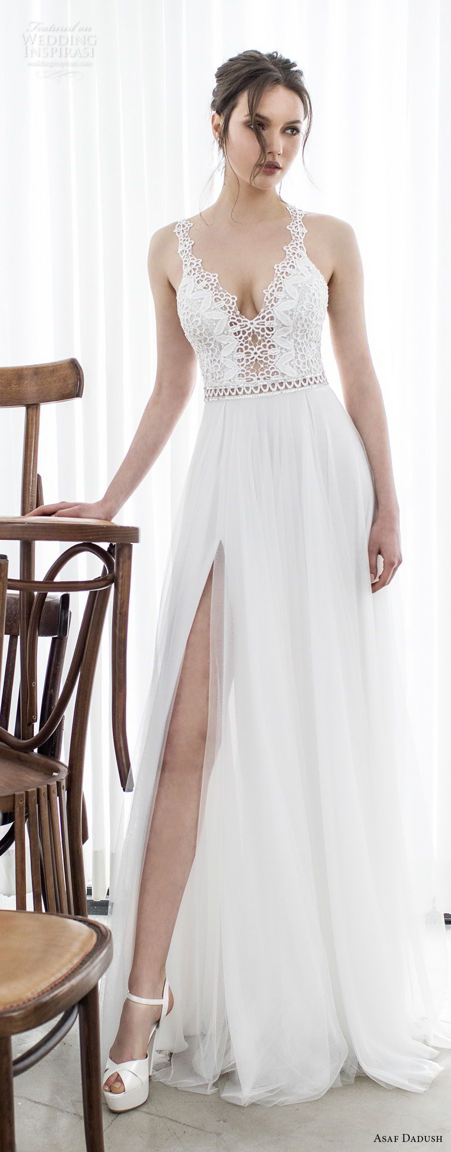 Asaf dadush wedding dresses bodice romantic and wedding dress