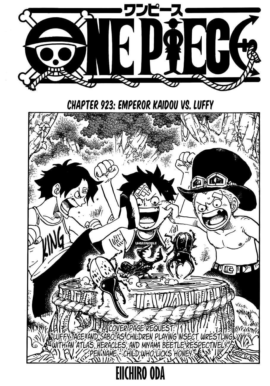 đảo Hải Tặc Vua Hải Tặc One Piece Chap 923 Next Chap 924 Tiếng Việt Anime One Piece One Piece Kai