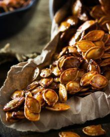 Spiced Honey Roasted Pumpkin Seeds #pumpkinseeds Spiced Honey Roasted Pumpkin Seeds | Waste not, want not... turn leftover pumpkins into a delicious treat! These roasted pumpkin seeds are deliciously savory, with hints of spice and honey! #roastedpumpkinseeds Spiced Honey Roasted Pumpkin Seeds #pumpkinseeds Spiced Honey Roasted Pumpkin Seeds | Waste not, want not... turn leftover pumpkins into a delicious treat! These roasted pumpkin seeds are deliciously savory, with hints of spice and honey! # #roastedpumpkinseeds