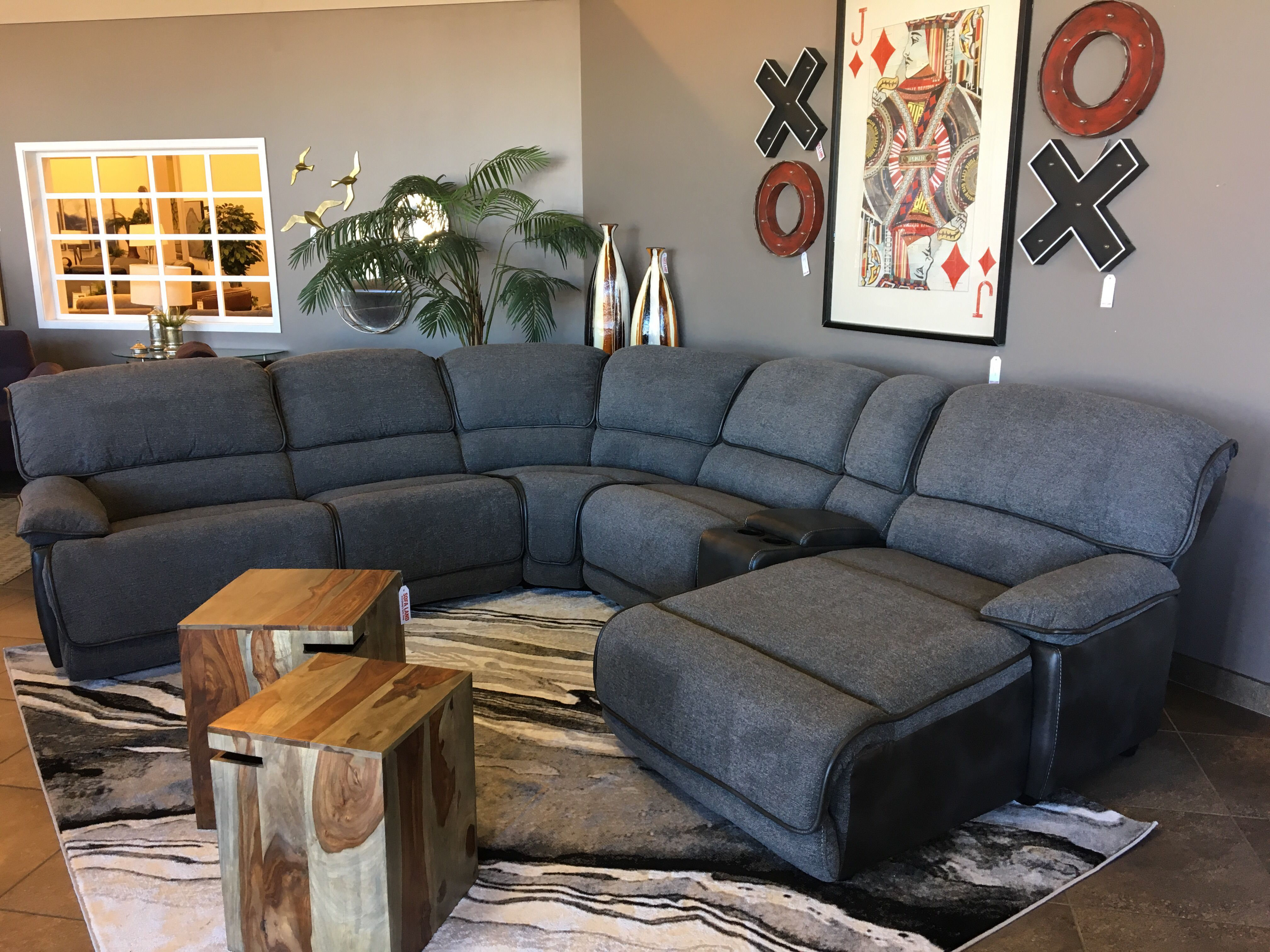 This Sectional Is Perfect To Cuddle Up On For Movie Nights The