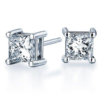 Blue Nile Giveaway Win Diamond Stud Earrings In Platinum