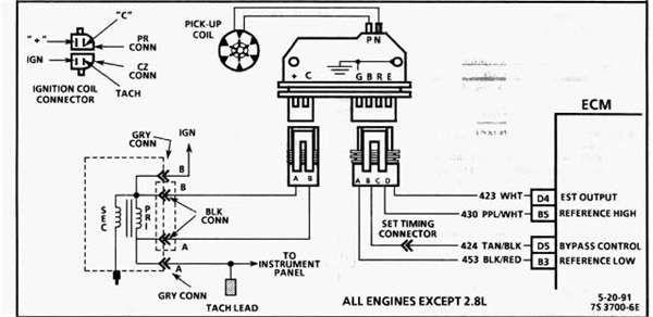 Afbeeldingsresultaat voor ignition wiring lumina apv 1991