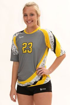 Tsunami Womens Half Sleeve Sublimated Jersey Volleyball Uniforms Design Volleyball Jersey Design Volleyball Jerseys