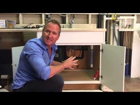 Protect your kitchen cabinets from water damage , mold and ...