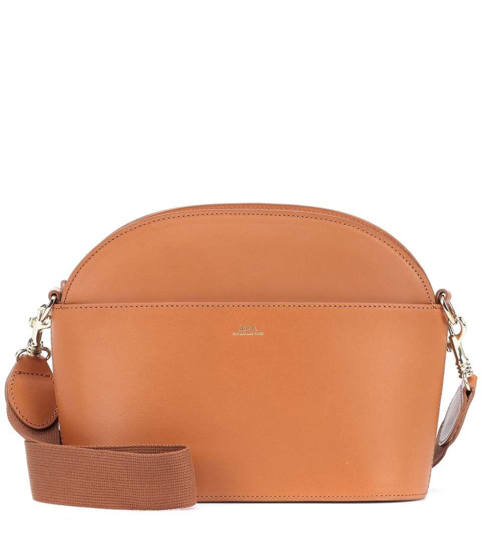 A.P.C. - Gabrielle leather shoulder bag   mytheresa.com   Bag ... e9c7c6cb70