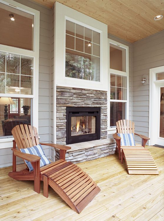 27+ Gorgeous Double Sided Fireplace Design Ideas, Take A ...
