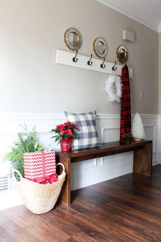 ideas para decorar tu recibidor esta navidad - Ideas Recibidor