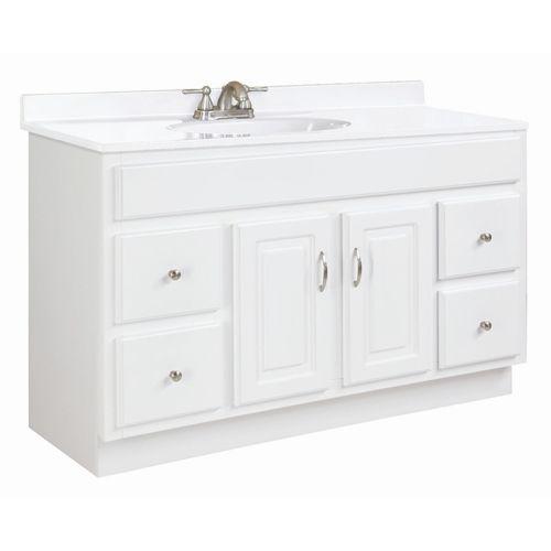 Concord 48 X 18 Inch Vanity Vanities Bathroom Vanities Bathroom Furniture Bathroom Vanities Without Tops Bathroom Vanity Contemporary Bathroom Vanity 48 x 18 bathroom vanity
