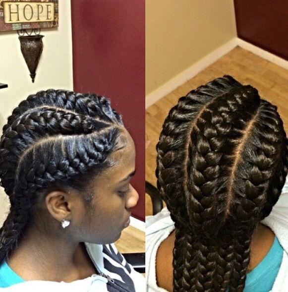 Stunningly Cute Ghana Braids Styles For 2020 | African ...