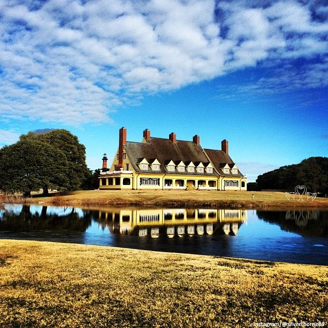 The Whalehead Club In Corolla, North Carolina.