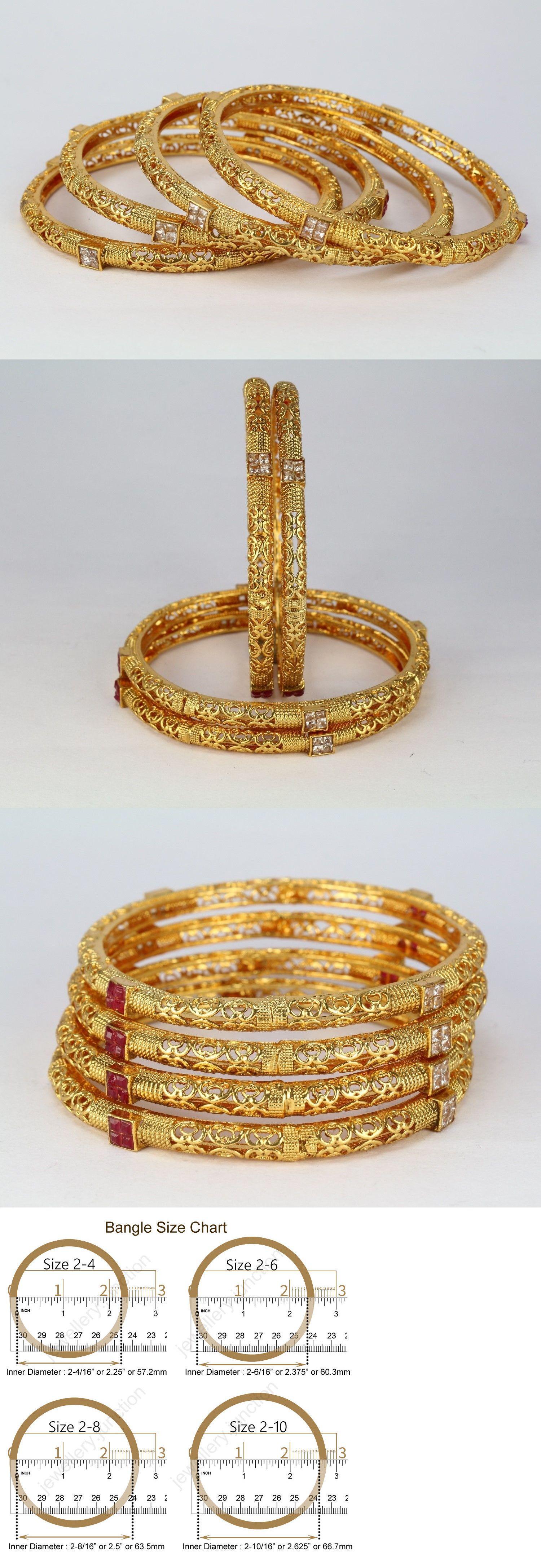 Indian wedding gold plated pc fashion jewelry new bangle bracelet