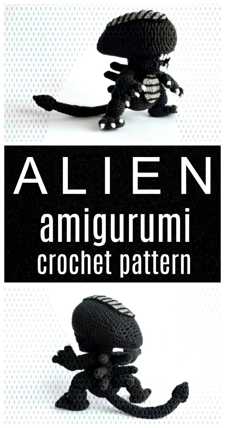 Room divider: 60 models of decoration and materials - PİNXHOUSE  Alien the movie amigurumi geeky p