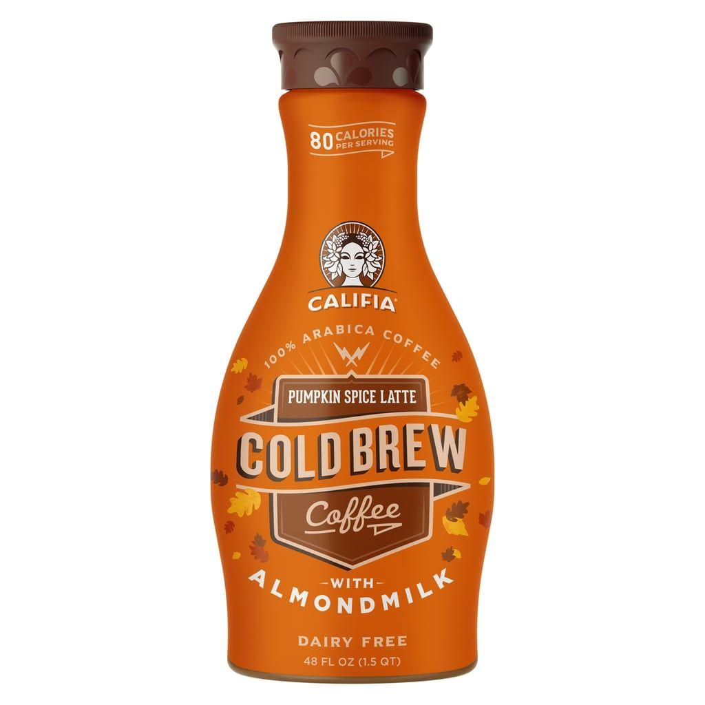 Califia farms pumpkin spice latte cold brew coffee with
