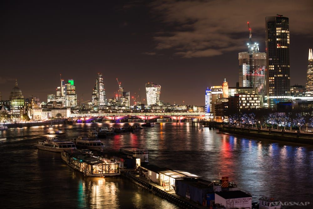 London skyline by Tag Gordon on 500px