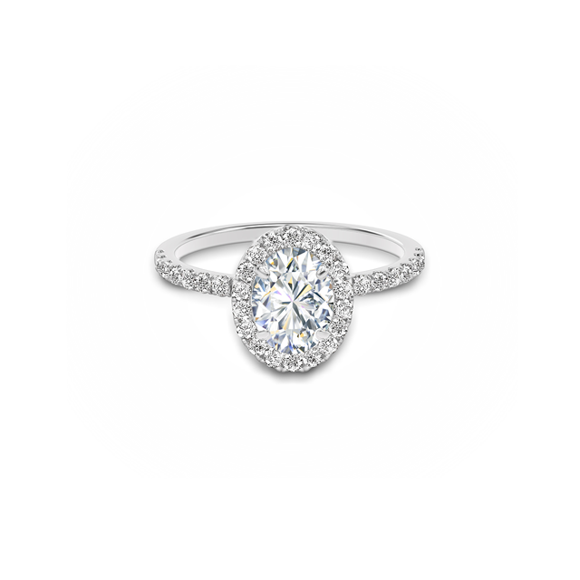 0a8037843dcae The beautiful oval Forevermark diamond engagement ring is available ...