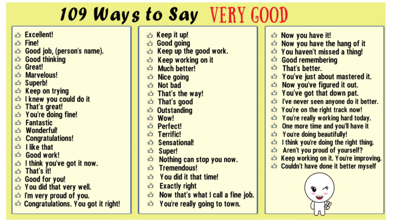 Very Good Synonyms Synonyms For Awesome English Vocabulary Words English Study