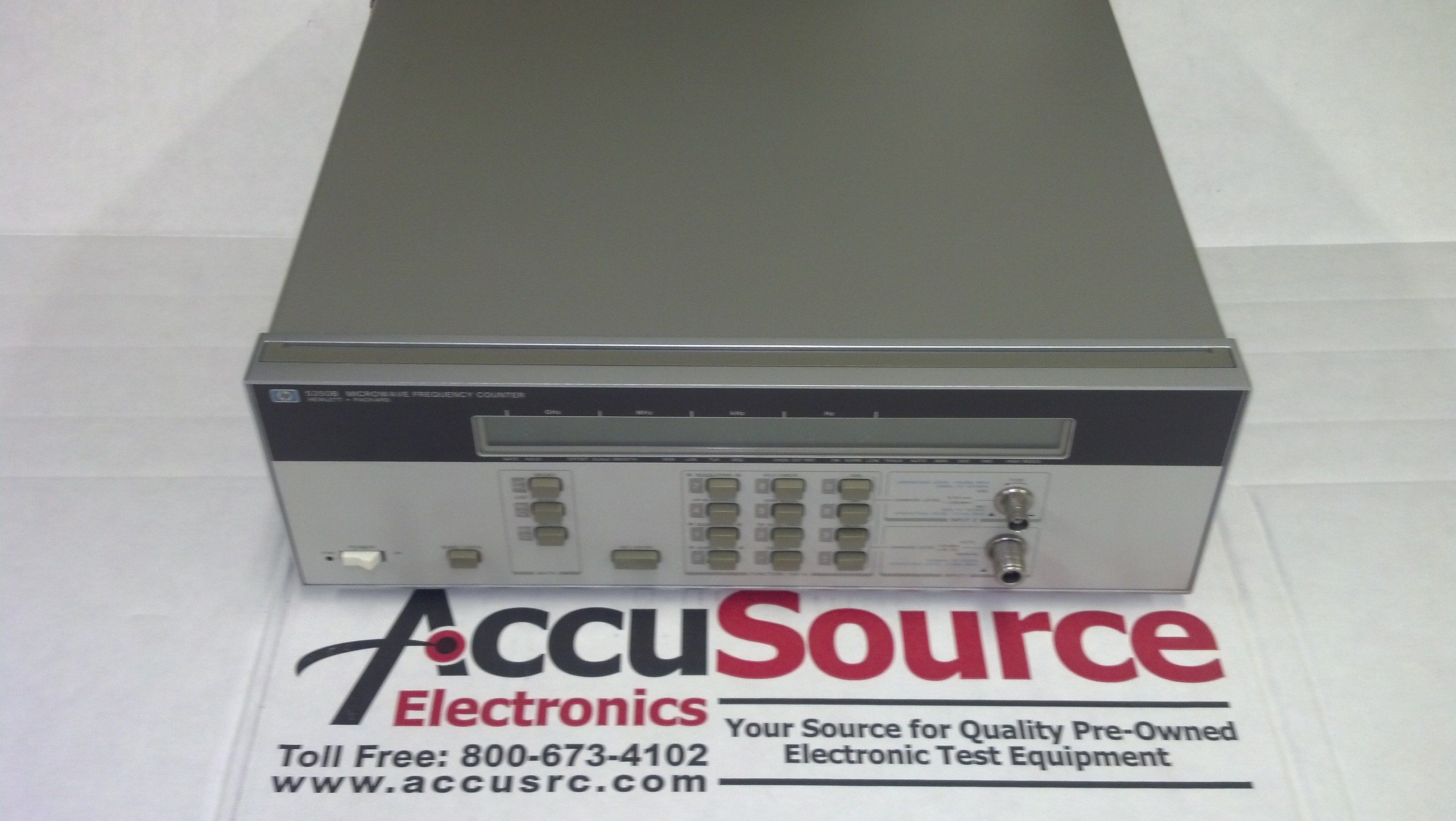 Agilent Hp 5350b Microwave Frequency Counter 10 Hz To 20 Ghz