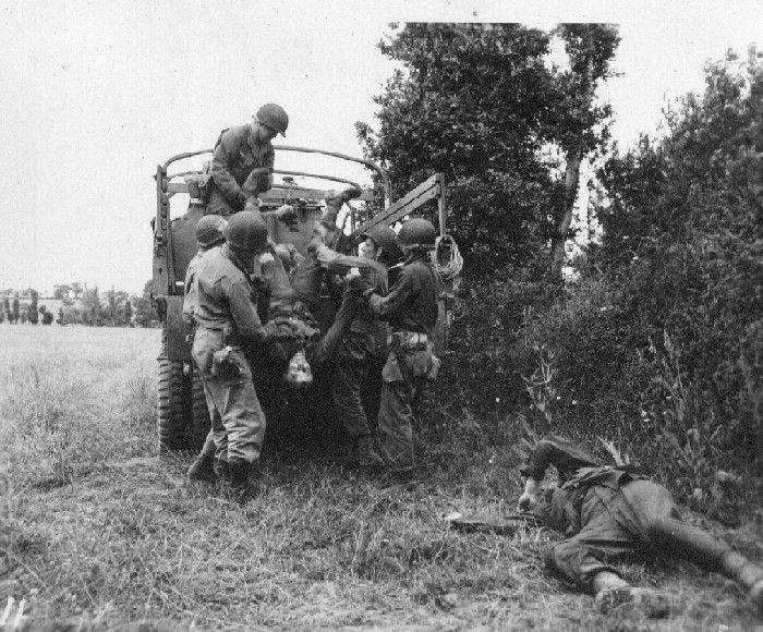 Loading Dead Germans Normandy Foto S Normandie