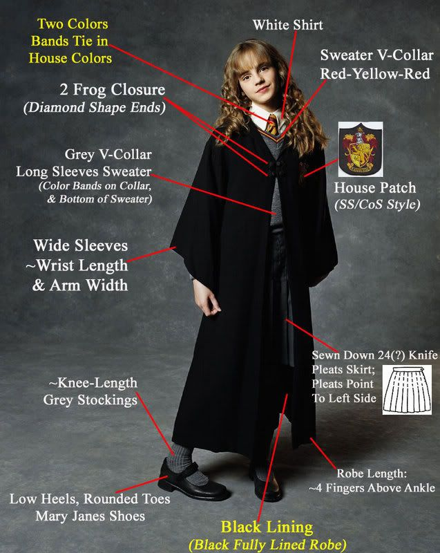Harry Potter Costume Patterns Harry Potter Page 138 Cosplay