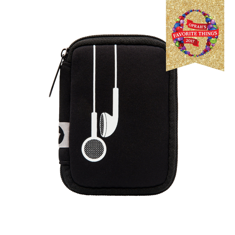 Ear bud case plug in black Ear, Plugs, Accessories