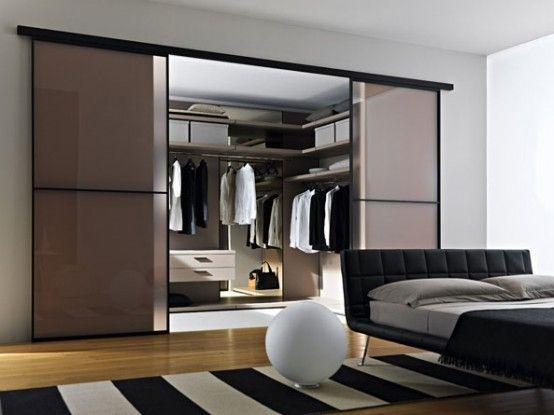 Walk In Closet With Glass Sliding Glass Door Walk In Closet Design Walk In Closet Small Organizing Walk In Closet