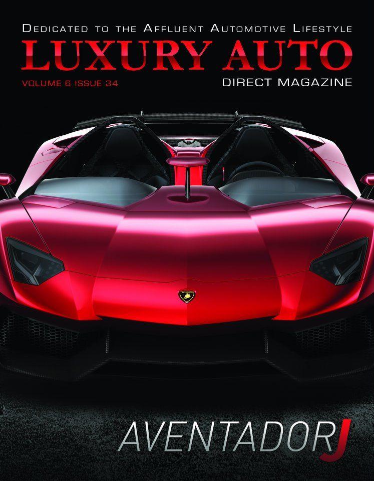 Issue 34 Featuring The Lamborghini Aventador J Roadster