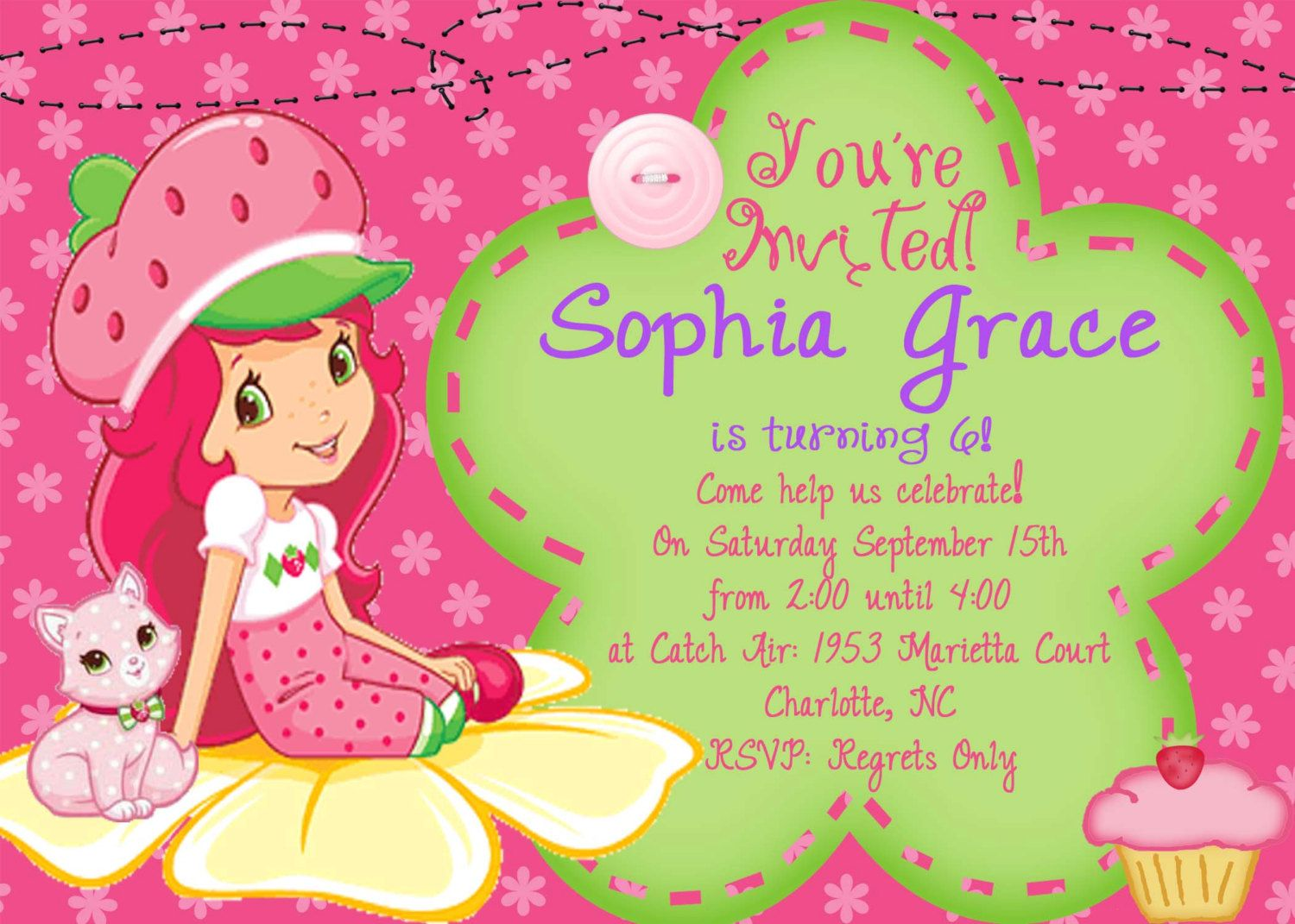 17 Best images about Fun Invitation Ideas for Childrens Parties – B Day Invitation Card