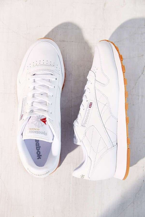 The 9 Coolest Sneakers To Wear In And Out Of The Gym Reebok Classic Gum Sole Reebok Classic Rebook Shoes