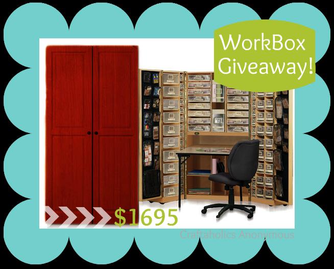 enter to win a Workbox! valued at 1695$ @TheOriginalScrapBox
