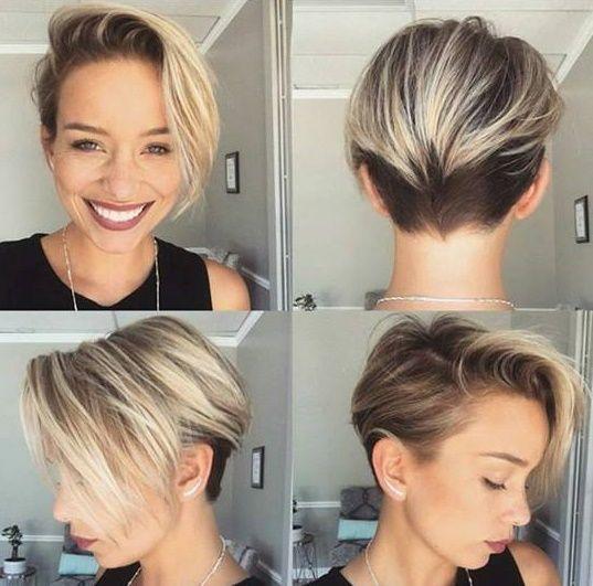 Diese Kurzhaarfrisuren mit starkem Undercut wirst Du sicherlich - cortes de cabello corto para mujer