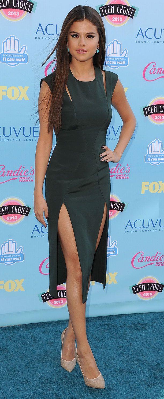 Teen Choice Awards 2013: What the stars wore   Selena gomez ...