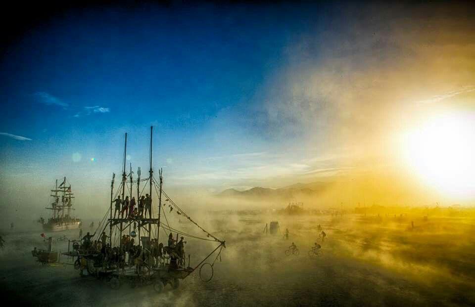 The Lady Monaco at dawn