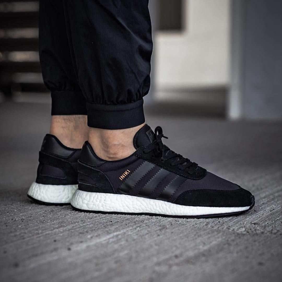 meet eca95 79e77 adidas Originals Iniki Runner  Core Black