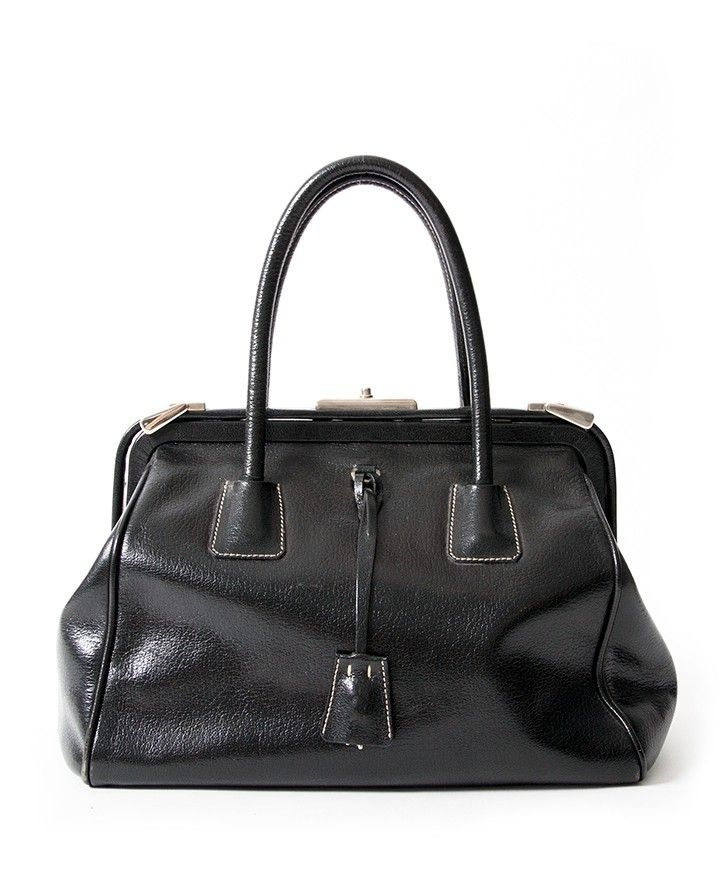 Vintage Prada Doctors Bag Black. Shop authentic second hand vintage  designer fashion b4eecfef87787