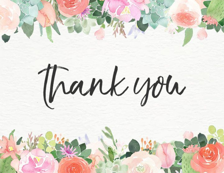 10 Free Printable Thank You Cards You Cant Miss  The Cottage Market