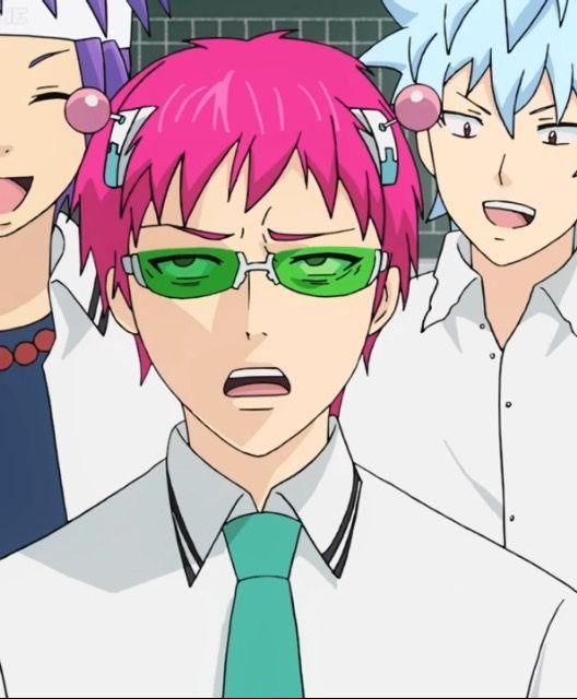 Saiki S Annoyed Face Saiki Anime Anime Comics