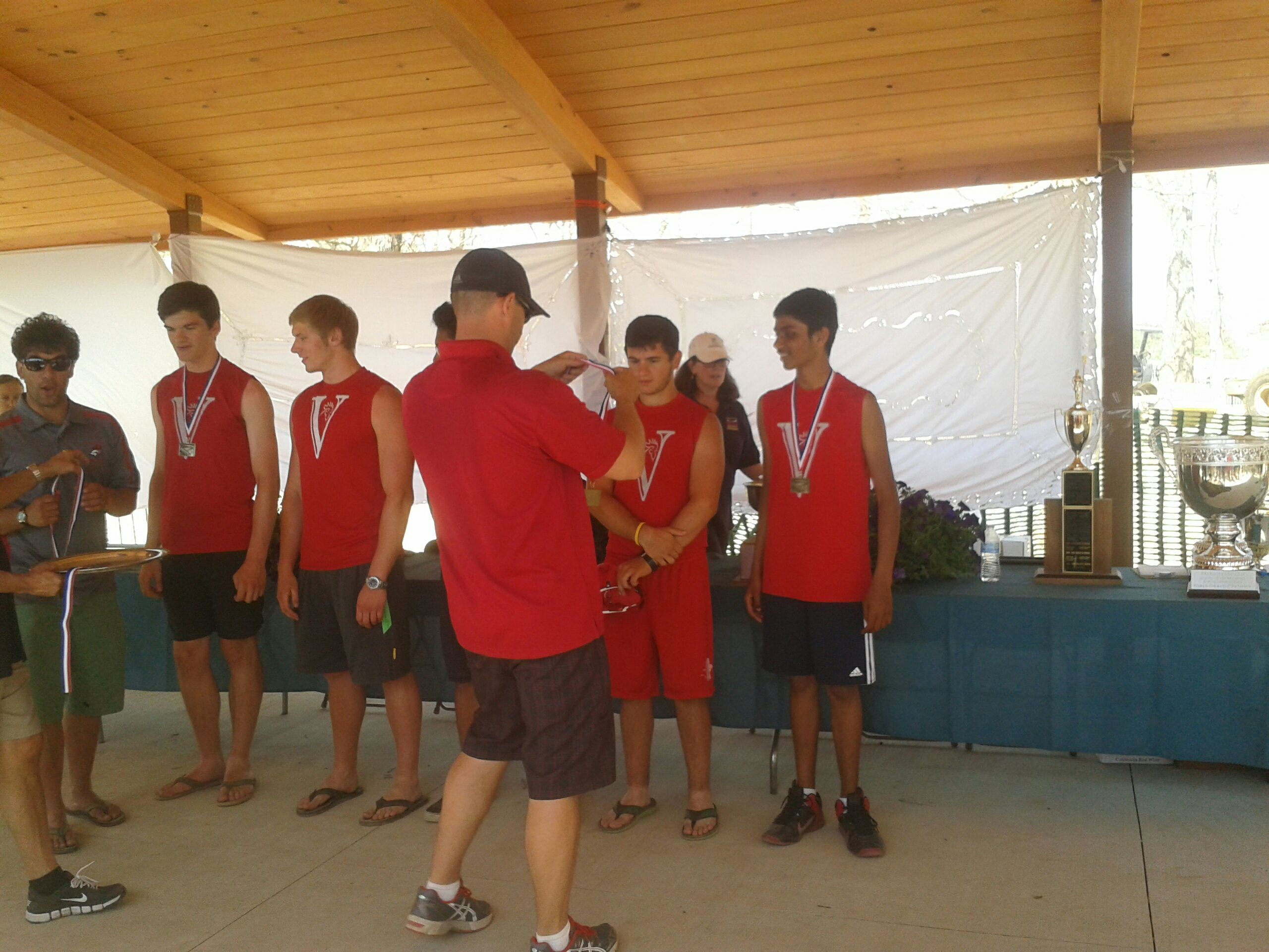 Lake Lenape Gold Medal Win May 11 2014 The Man Gold Medal Crew